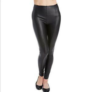 Pants - Women's Sz. S Lysse Espresso Vegan Leather Legging